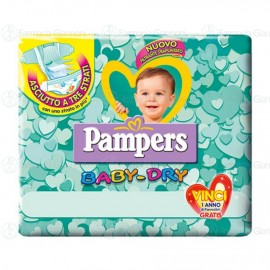 Pampers Baby-Dry taglia 2    3-6Kg