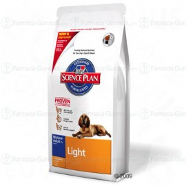 Hill's canine LIGHT Matur Adult 7+ Taglia media con POLLO Sacchetto da 3Kg