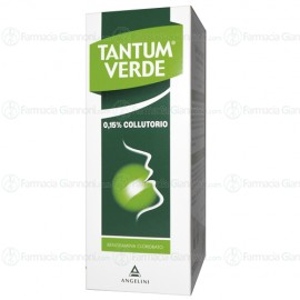 TANTUM VERDE 0,15% collutorio flacone da da 120 ml