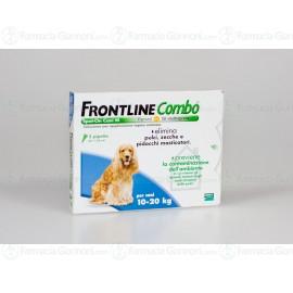 Frontline Combo soluzione Spot-on per CANI da 10-20 Kg 3 pipette da 1,34ml