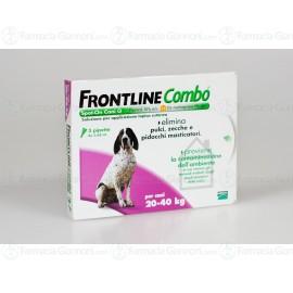 Frontline Combo soluzione Spot-on per CANI da 20-40 Kg 3 pipette da 2,68ml