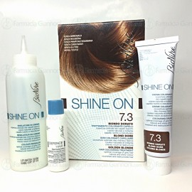 Trattamento colorante SHINE ON 7.3 biondo dorato