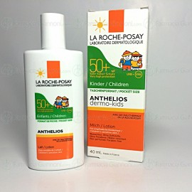 Latte solare ANTHELIOS SPF50+ dermo pediatrics da 40ml