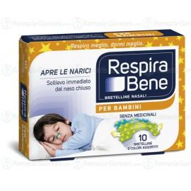 Cerotti nasali RESPIRA BENE BAMBINI -10 Bretelle