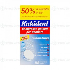 Kukident Compresse Pulenti Confezione da 88 compresse