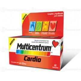 MULTICENTRUM CARDIO Confezioni da 60 compresse deglutibili.