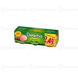 Omogeneizzato Prosciutto Dieterba - 3 vasetti da 80g (240g)
