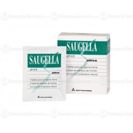 Saugella ATTIVA pH 4,5 - 10 Salviette monouso