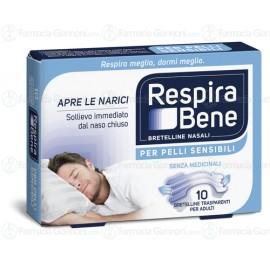 Cerotti nasali RESPIRA BENE TRASPARENTE ADULTI-10 Bretelle