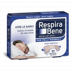 Cerotti nasali RESPIRA BENE CLASSICO ADULTI-10 Bretelle